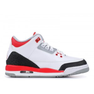 Air Jordan 3 Retro Fire Red 2013 GS Women's 398614 120