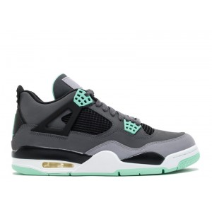 Air Jordan 4 Retro Green Glow 308497 033