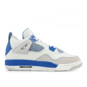 Air Jordan 4 Retro Military Blue GS Womens 308498 141