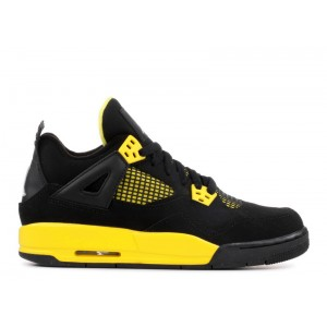 Air Jordan 4 Retro Thunder GS Womens 408452 008