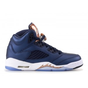 Air Jordan 5 Retro Bronze GS Women's 440888 416