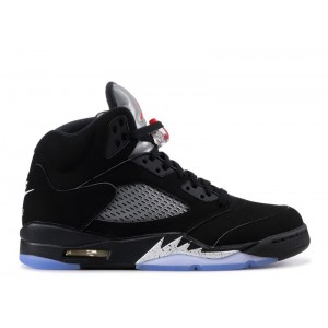 Air Jordan 5 Retro OG Black Metallic Silver 2016 845035 003