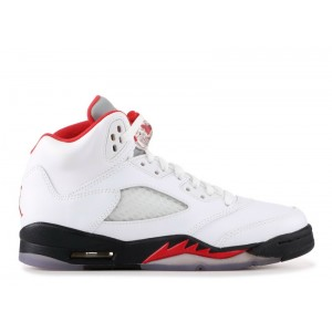 Air Jordan 5 Retro Fire Red 2013 GS Women's 440888 100
