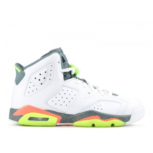 Air Jordan 6 Retro Hasta BG Women's 384665 114