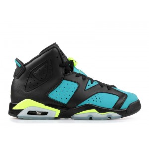 Air Jordan 6 Retro Turbo Green GS Women's 543390 043