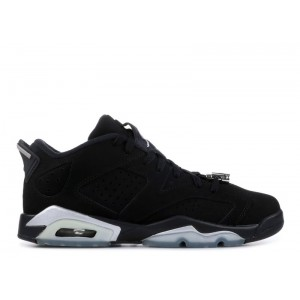 Air Jordan 6 Retro Low Chrome GS Women's 768881 003