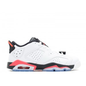 Air Jordan 6 Retro Low Infrared GS Womens 768881 123
