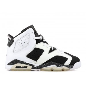 Air Jordan 6 Retro Oreo GS Women's 384665 101