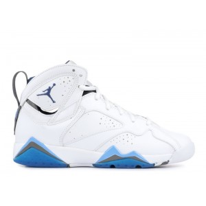 Air Jordan 7 French Blue GS Womens 304774 107