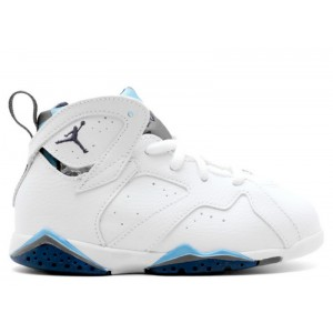 Air Jordan 7 Retro French Blue TD Womens 304772 107