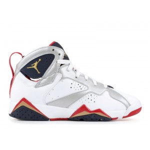 Air Jordan 7 Retro Olympic 2012 GS Womens 304774 135