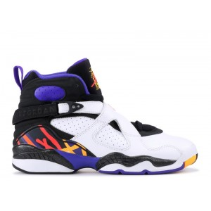 Air Jordan 8 Retro Three-peat GS Women's 305368 142