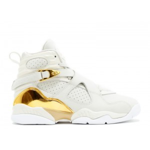 Air Jordan 8 Retro C&C Trophy GS Womens 833378 030