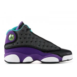 Air Jordan 13 Black Teal Violet GS 439358 027