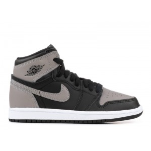 Air Jordan Retro 1 High OG Shadow Grey Black BP AQ2664 013