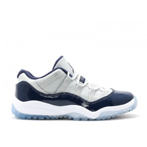 Air Jordan 11 Retro Low Georgetown BP PS 505835 007