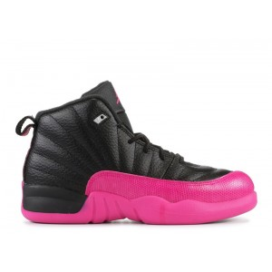 Jordan 12 Retro Black Deadly Pink 510816 026