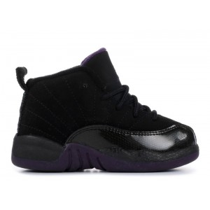 Air Jordan 12 Retro Black Grand Purple TD 850000 051