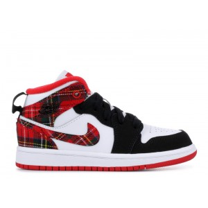 Jordan 1 Mid PS Bad Santa 640734 607 Sale Online