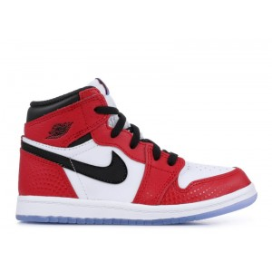 Air Jordan 1 Retro High OG Spider Man TD AQ2665 602 Hot Sale