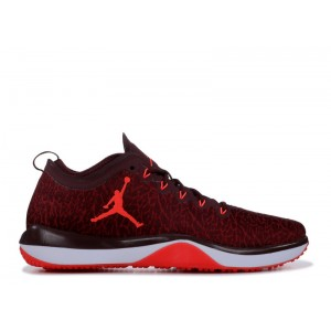 Jordan 1 Trainer Low Night Maroon Mens 845403 600