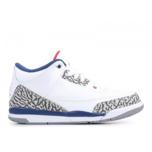 Air Jordan 3 Retro True Blue BP 2016 Release 429487 106 Hot Sale
