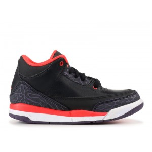 Jordan 3 Retro Black Crimson Purple PS 429487 005