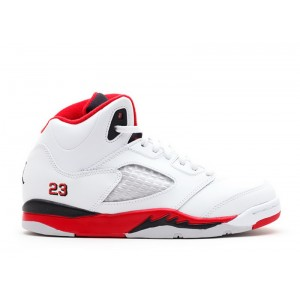 Jordan 5 Retro Fire Red Black Tongue PS 2013 Release 440889 120