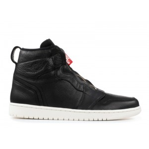 Wmns Air Jordan 1 High Zip Black Sail aq3742 016