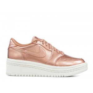Wmns Air Jordan 1 Low Lifted Metallic Red Bronze AO1334 901