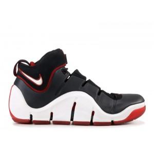 Zoom Lebron 4 Black White Red 314647 011