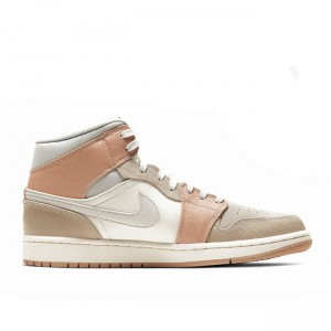 Air Jordan 1 Mid Milan Sail/Light Bone CV3044-100