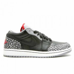 Air Jordan 1 Phat Low Cement Grey 338145 062