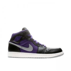 Air Jordan 1 Phat Mid Court Purple 364770 018