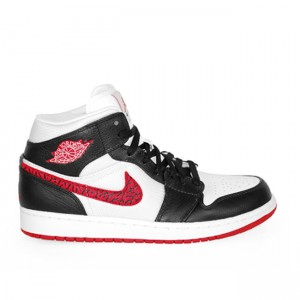 Air Jordan 1 Phat White Red Black 364770 110