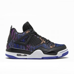 Air Jordan 4 SE Rush Violet Racer Blue GS BQ9043-005