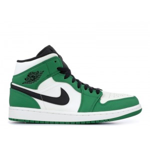 Air Jordan 1 Mid Pine Green 852542-301 (GS)