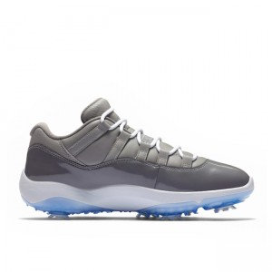 2019 New Cool Grey Low Golf 11s Air Jordan AQ0963-002