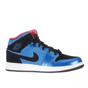 Girls Air Jordan 1 Phat GS Neptune Blue 364781 408
