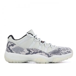 Jordan 11 Low Snakeskin Light Bone CD6846-002
