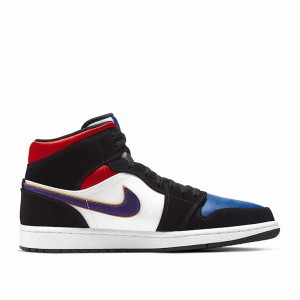 Jordan 1 Mid Field Purple