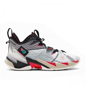 Jordan Why Not Zer0.3 UNITE White/Bright Crimson CD3002-001