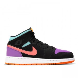 Multi-Color 1s Mid Retro Jordan