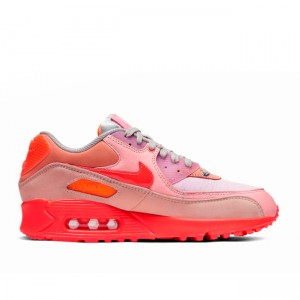 New 2019 Pink Purple Beige Air Max 90 PRM WMNS CT3449-600