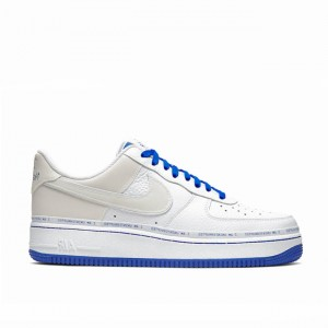 Uninterrupted x Air Force 1 White/Lapis Blue CQ0494-100