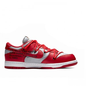 University Red Off-White x Dunk Low CT0856-600